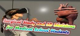 3D外科骨骼医学教学(Surgical Study and 3D Skeletons for Medical School Students)